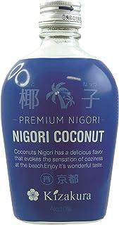300ml  KIZAKURA Sake Kokosnuss Nigori aus Japan, alc. 10% vol/Nigori Coconut