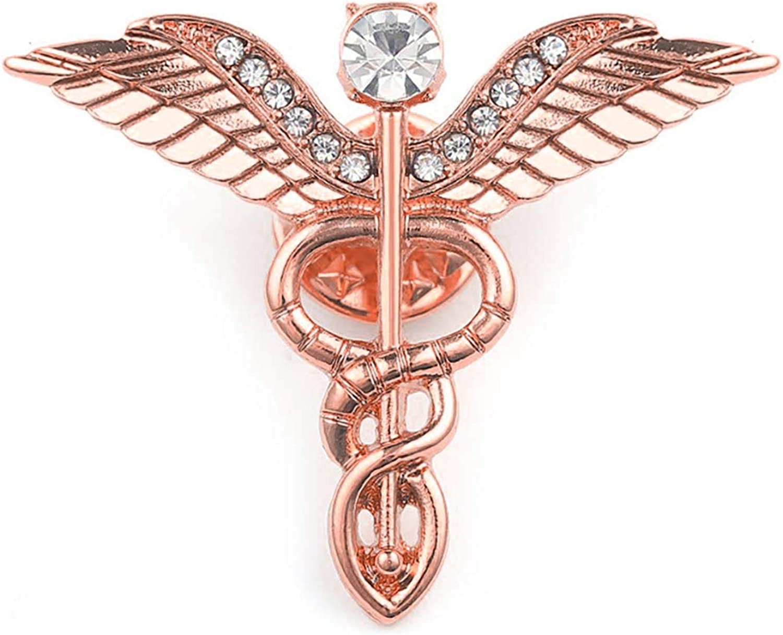 PLITI Medical Student Mail order cheap Gift Caduceus B Cheap Nursing Charm Themed Angel