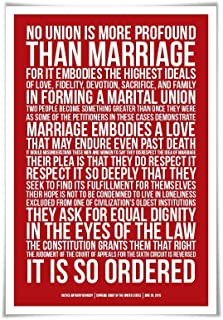 same sex marriage poster