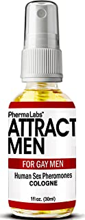 The Secret to ATTRACT MEN for GAY MEN ! Human Sex Pheromones Cologne Spray