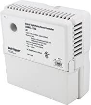Wattstopper LMRC-213 Box Mount 3 Relay On/Off Digital Dimming Room Controller 120 - 277 Volt AC 800Milli-Amp White
