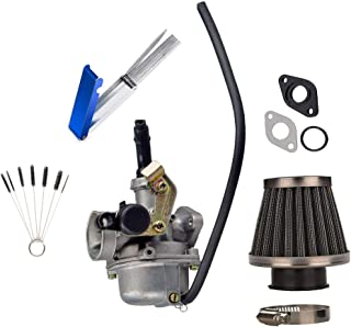 ATV Carburetor PZ19 with 35mm Motorcycle Air Filter For 50cc 70cc 90cc 100cc 110cc 125cc 13 Wires Jet Cleaning Needles