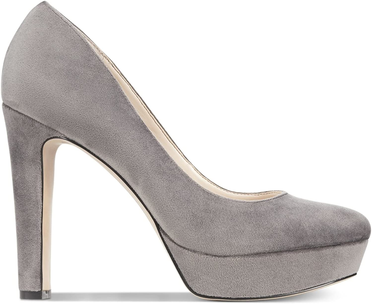 INC International Concepts Womens Anton Suede Closed Toe, Dk Grey, Size 6.0