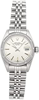Oyster Perpetual Mechanical (Automatic) Silver Dial Womens Watch 6919 (Certified Pre-Owned)