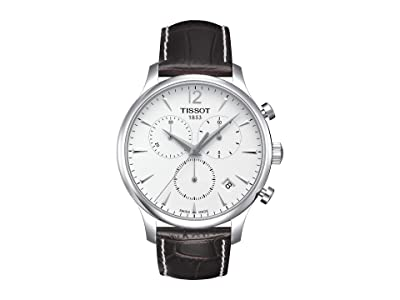 Tissot Tradition Chronograph T0636171603700 (Mother-of-Pearl/Brown) Watches