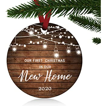 Amazon.com: ZUNON First Christmas in Our New Home Ornaments 2020