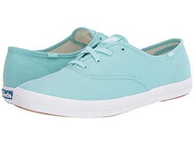 Keds Champion Seasonal Solids (Aqua) Women