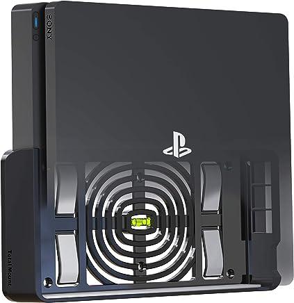 TotalMount Soporte para PlayStation 4 Slim (monta PS4 Slim en una pared cerca del televisor)