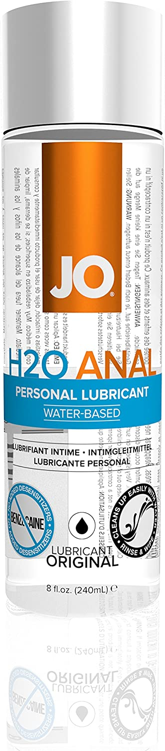 JO H2O Seattle Mall Anal Water Based Personal Natural Lubricant o 8 Import Original