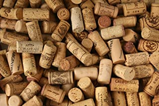 Premium Recycled Corks, Natural Wine Corks From Around the World - 100 Count