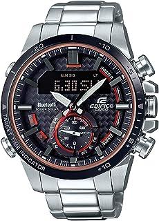 Casio Edifice Analog-Digital Black Dial Men's Watch ECB-800DB-1ADR(EX451)