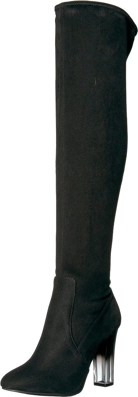 NINA Woherren Icelyn Winter Winter Stiefel, Suede-schwarz, 7 M US  Kostenlose und schnelle Lieferung möglich