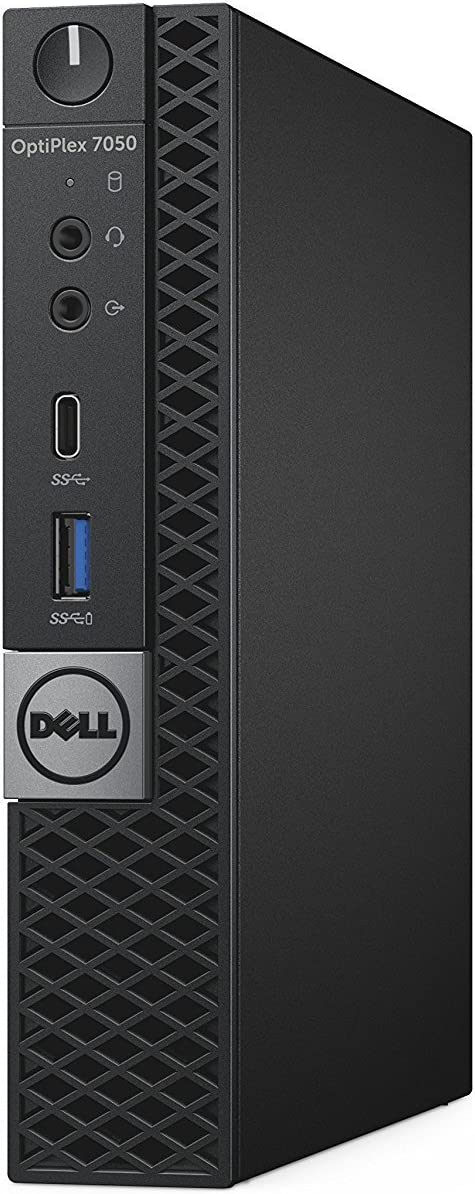 Dell OptiPlex 7050 Micro Form Factor Desktop Computer, Intel Core i5-7500T Quad-Core Up to 3.3GHz, 16GB DDR4, 512GB Solid State Drive, Windows 10 Pro (Renewed)