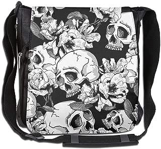 SARA NELL Messenger Bag,africa Map,Unisex Shoulder Backpack Cross-body Sling Bag
