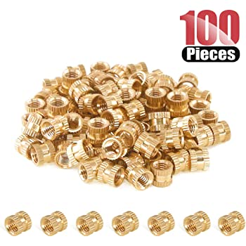 Zinc Plated 8.25 Length, Lyn-Tron 0.375 OD 8-32 Screw Size Brass Female Pack of 1