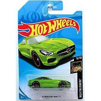 2018 HOT WHEELS #264 NIGHTBURNERZ/'15 Mercedes-AMG GT