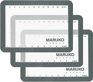 Tapis de cuisson en silicone - Ensemble de 3 tapis de feuille antiadhésifs, tapis épais réutilisable sans BPA de qualité p...