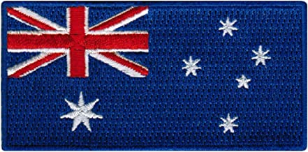 Australia Flag Embroidered Patch Australian Iron-On National Emblem