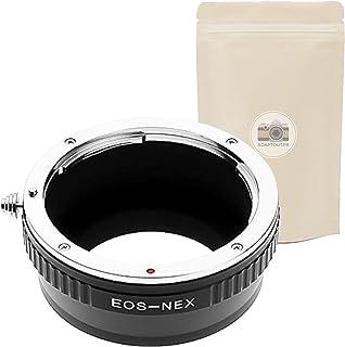 EOS NEX ∞ Anillo de Adaptación para Lente Canon EOS a Camara Sony NEX E - Adaptout Marca francesa