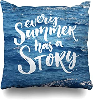 every summer has a story pillow