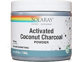 Solaray, activated Coconut Charcoal Powder, 500 mg, 5.3 oz (150 g)