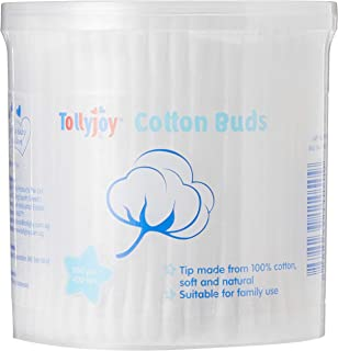 Tollyjoy Normal Cotton Bud in Canister, 200ct