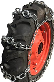 TireChain.com 12.4-28, 12.4 28 Double Ring Nuway Tractor Tire Chains