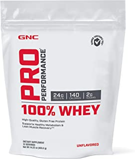 Sponsored Ad - GNC Pro Performance 100 Whey - Unflavored