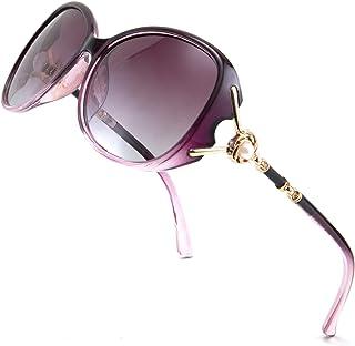 نظارات شمسية نسائية كلاسيكية مستقطبة للحماية من الأشعة فوق البنفسجية بتصميم عصري من فيسيدي، B2729