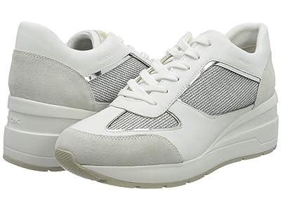Geox Zosma 11 D028LA (Light Grey/White) Women