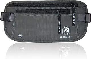 Slim Minimalist Design Money Belt, RFID Blocking for Men & Women - Ideal for Keeping Your Cash, Credit Card, Passport, Phone Safe When Traveling