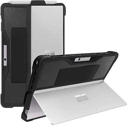 AKASHI TECHNOLOGY – Carcasa para Microsoft Surface Pro 7, Surface Pro 6, Surface Pro 5, Surface Pro 4, funda de protección robusta con puerta para ...