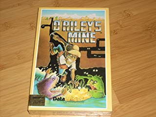 O'RILEY'S MINE - COMMODORE 64 Computer Game in original shrink wrapped box! Includes Disk & Cassette Versions. Copyright 1982 DataSoft, Inc. Chatsworth, CA. RARE New in box!