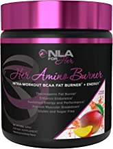NLA for Her - Her Amino Burner - Intra-Workout BCAA Fat Burner + Energy - Sustained Energy, Focus, and Endurane. Promotes Fat Loss & Boosts Metabolism - Mango Passion - 195 Grams