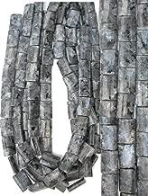 Blue Norwegian Moonstone (Larvikite) 13x18mm Cushion Beads, 16 inch Strand