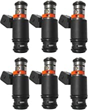 6x Fuel Injectors For 99-03 VW Golf Jetta EuroVAN 97 V6 2.8L IWP022 021906031D