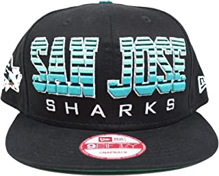 New Era San Jose Sharks Fade 9FIFTY Adjustable Snapback Hat/Cap
