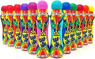 Dab-O-Ink Bingo Dauber - 3 oz - 12 Pack - Assorted Colors