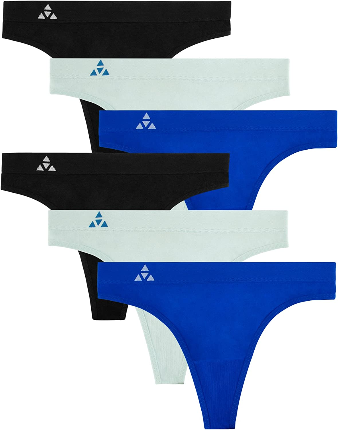 Award Balanced Tech Women's 6-Pack New product! New type Quick Thong Seamless Dry Breathable