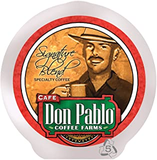 Cafe Don Pablo 84 Count K-Cups, Signature Blend Gourmet Coffee Medium-Dark Roast, Keurig Brewers 2.0 Compatible K-cup 84 ct.