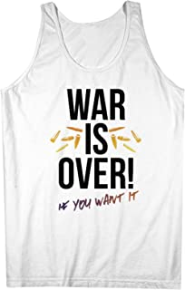 War Is Over If You Want It Activist 男性用 Tank Top Sleeveless Shirt