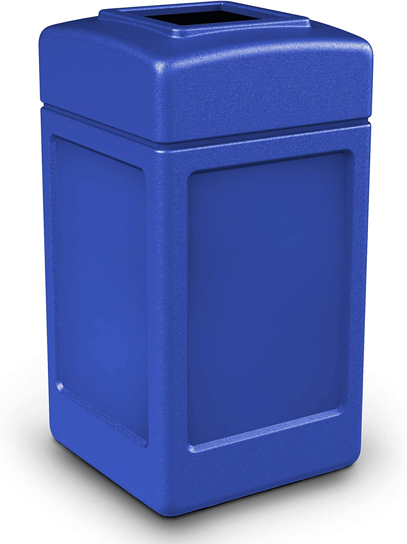 42 Elegant Gallon Square Al sold out. Waste Color: Blue Container