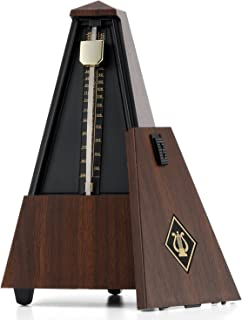Donner Mechanical Metronome DPM-1 For Musician Guitar Piano Drum Violin Track Beat And Tempo Plastic Wooden