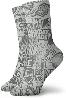 Fuck Cancer Socks Novelty Thin Casual Crew Sport Cute Comfort Work 11.8