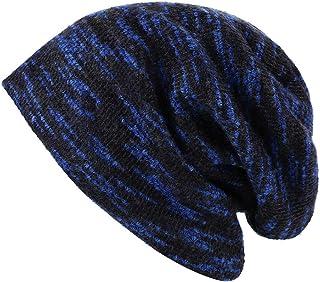 Unisex Mens/Womens Winter Warm Plush Lined Knit hat Beanie Hat Cap