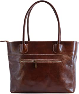 Napoli Italian Leather Women's Shoulder Bag Handbag Purse