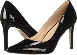 Black Crinkle Patent Leather
