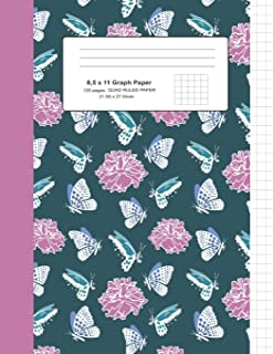 8,5 x 11 Graph Paper: Composition Notebook / Journal / Notepad, For Kids / Writing / Drawing / Math / Note Taking