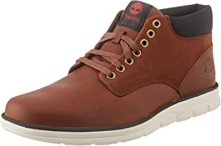 Timberland Bradstreet Leather Sensorflex, Botas Chukka Hombre, Marrón MD Brown Full Grain, 40 EU