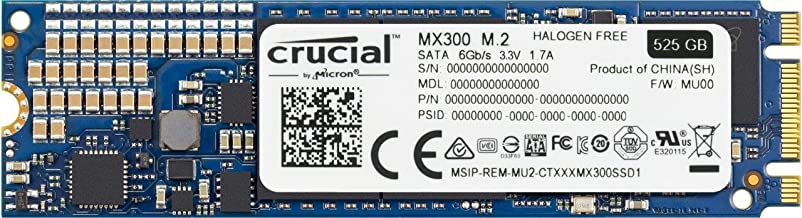 Crucial MX300 525GB 3D NAND SATA M.2 (2280) Internal SSD - CT525MX300SSD4